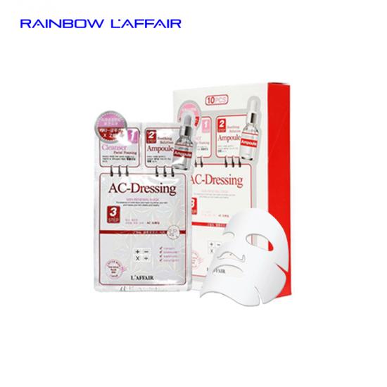 [TẶNG SỮA RỮA MẶT 150ML] 10combo mặt nạ cho da nhạy cảm 3 bước Rainbow L'affair  Ac-dressing