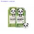 Hộp 10 mặt nạ dưỡng trắng - tái tạo - trẻ hóa da Rainbow L'affair Brightening Panda 250ml