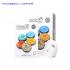 [TẶNG SỮA RỮA MẶT 150ML] Hộp 10 mặt nạ dưỡng trắng - trẻ hóa da Rainbow Laffair Multi-Care V5 Whitening Vitamin  250ml