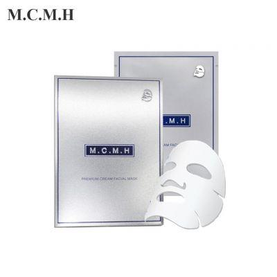 [TẶNG 1 SỮA RỬA MẶT 150ml] Hộp 6 mặt nạ trắng da - chống lão hóa - trị mụn - tái tạo - phục hồi da cao cấp dạng kem M.C.M.H Premium Cream Facial